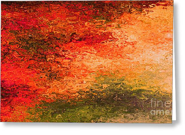 Set A Fire In My Soul Greeting Card by Beverly Guilliams
