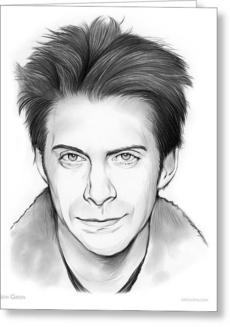 Seth Green Greeting Card by Greg Joens