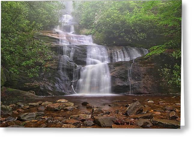 Setrock Creek Falls  Greeting Card