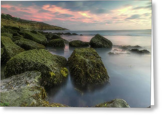 Calm Waters Greeting Card by Doug Barr