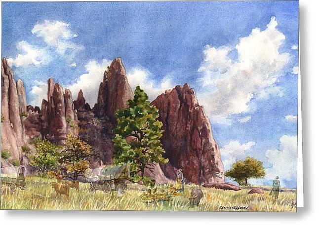 Settler's Park, Boulder, Colorado Greeting Card