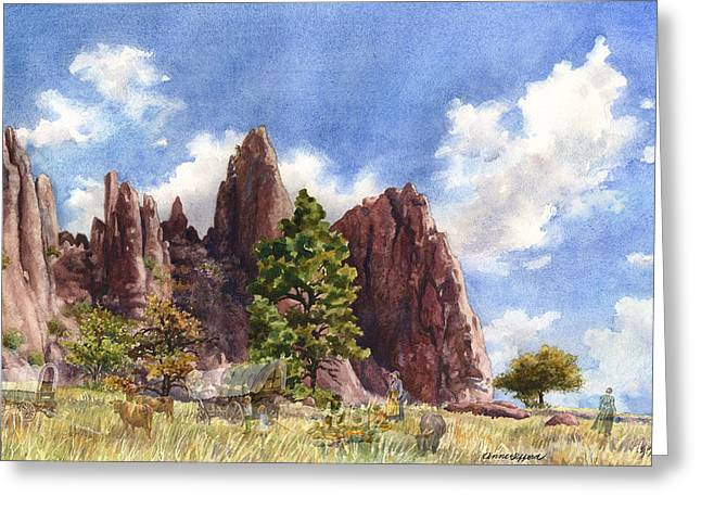 Settler's Park, Boulder, Colorado Greeting Card