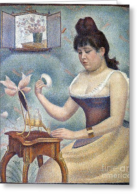 Seurat: Knobloch, 1889-90 Greeting Card by Granger