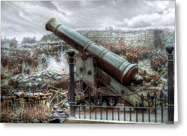 Sevastopol Cannon 1855 Greeting Card