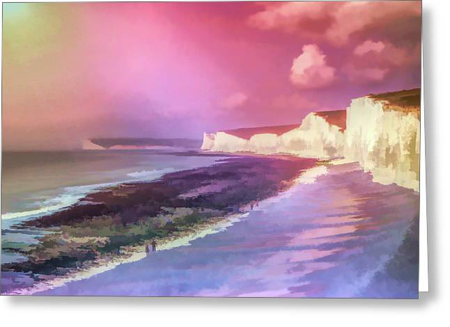 Seven Color Sisters Greeting Card