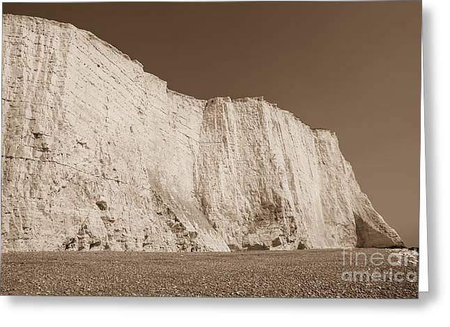 Seven Sisters Cliffs 26 Greeting Card by Marcin Rogozinski