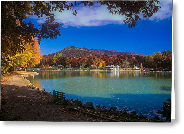 Seven Sisters From Lake Tomahawk Greeting Card