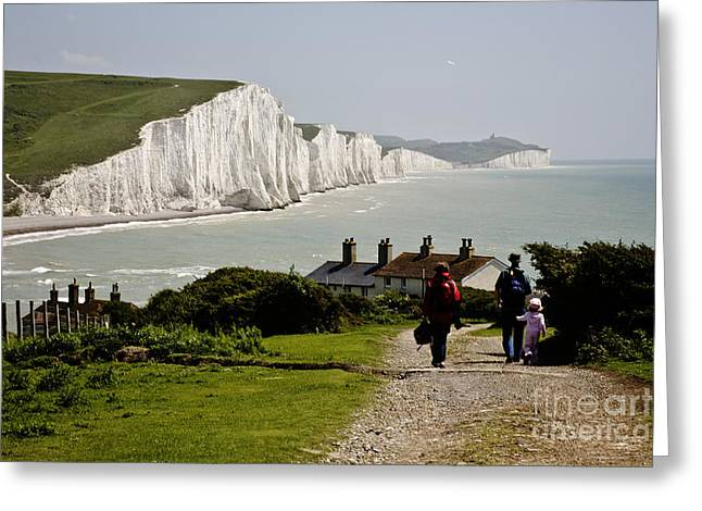 Seven Sisters Greeting Card by Heiko Koehrer-Wagner