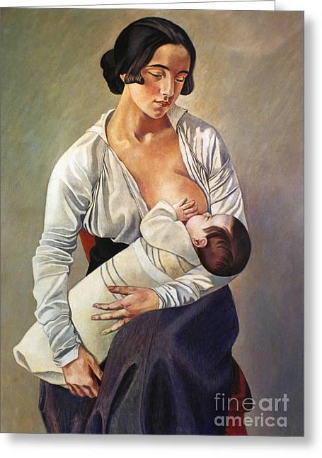 Severini: Maternity, 1916 Greeting Card by Granger