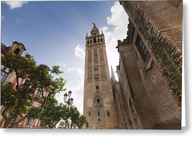 Sevilla Greeting Card by Andre Goncalves