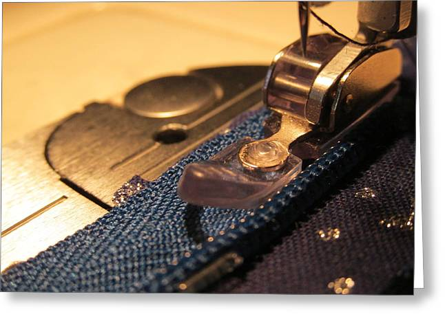 Sew On Greeting Card