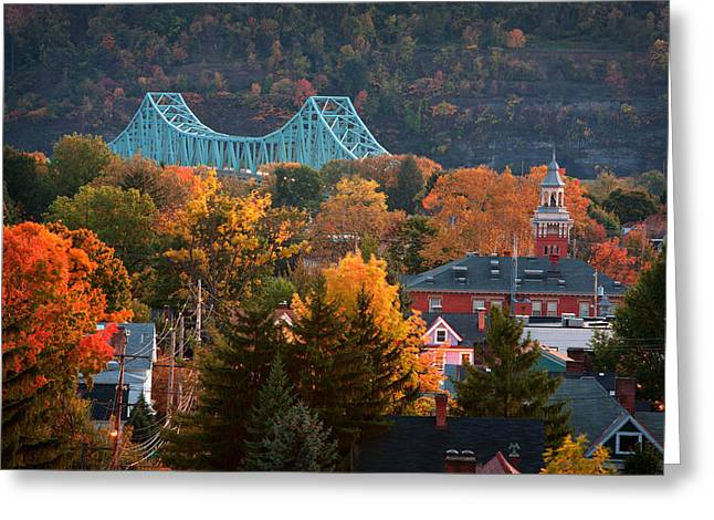 Sewickley 6 Greeting Card by Emmanuel Panagiotakis