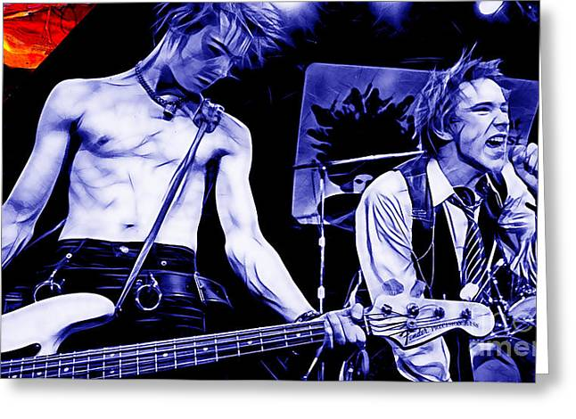 Sex Pistols Collection Greeting Card