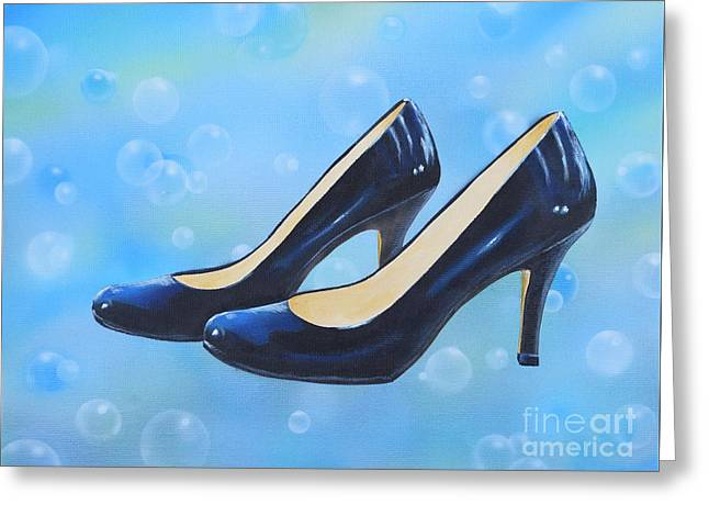 Sexy Shoes Greeting Card
