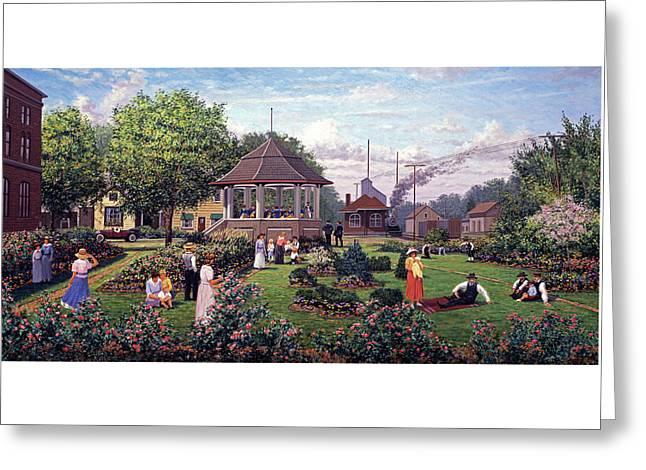 Seymour Gardens Greeting Card