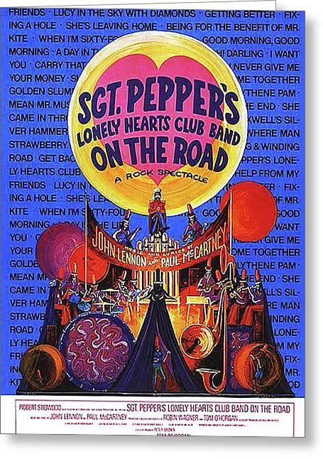 Sgt. Pepper's Poster Greeting Card