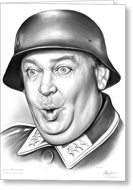 Sgt Schultz Greeting Card