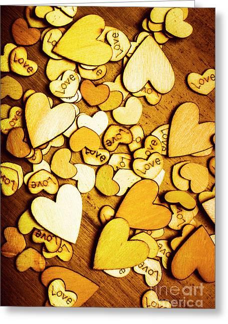 Shabby Love Artwork Greeting Card