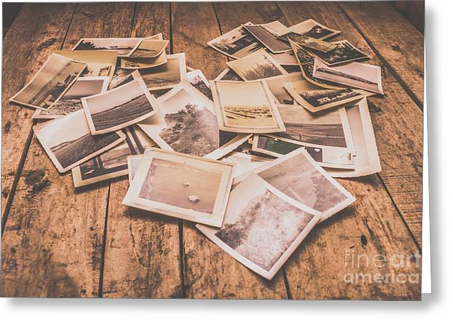 Shabby Photography Love Greeting Card by Jorgo Photography - Wall Art Gallery
