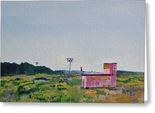 Shack On Sunrise Drive In Monterey Greeting Card by Paul Thompson