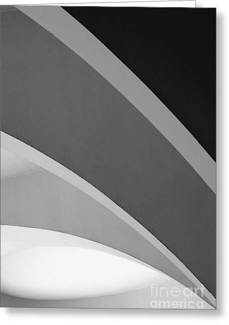 Shades Of Grey Greeting Card by Hideaki Sakurai