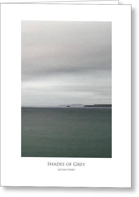 Shades Of Grey Greeting Card