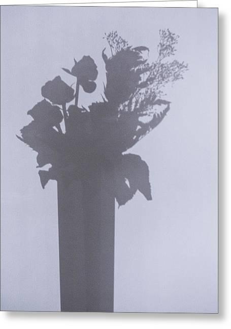 Shades Of Roses Greeting Card
