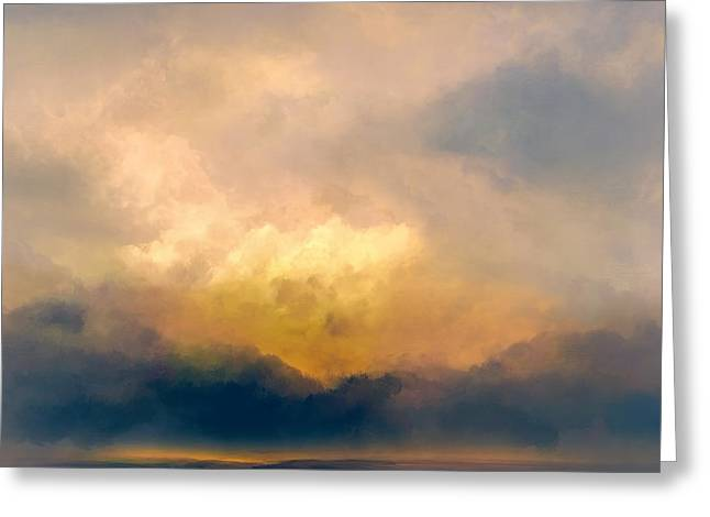 Shades Of Shadow Greeting Card by Lonnie Christopher