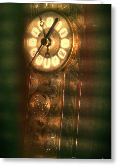 Shades Of Time Greeting Card