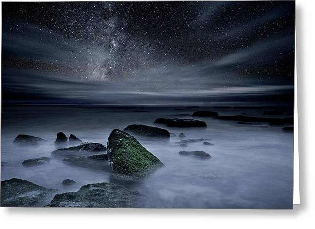Greeting Card featuring the photograph Shades Of Yesterday by Jorge Maia