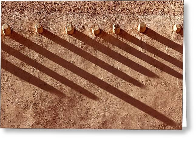 Shadow Beams Greeting Card