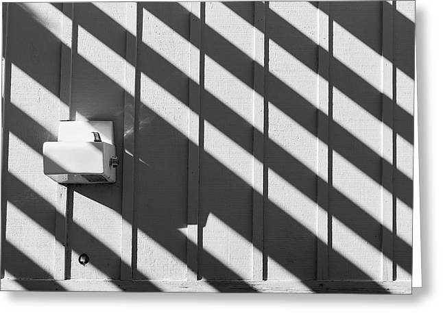 Greeting Card featuring the photograph Shadow by Jingjits Photography