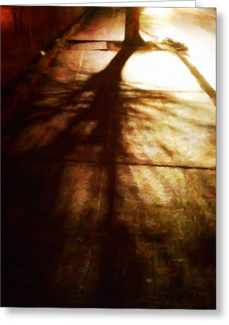 Shadow Of No Doubt Greeting Card