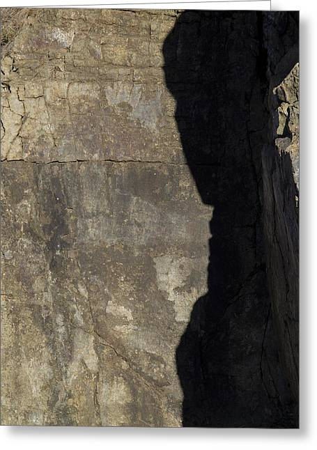 Shadow On The Stone Greeting Card