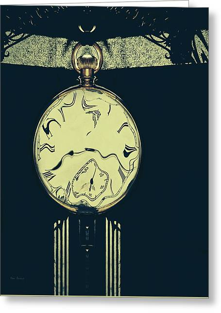 Shadows And Time Greeting Card by Bob Orsillo