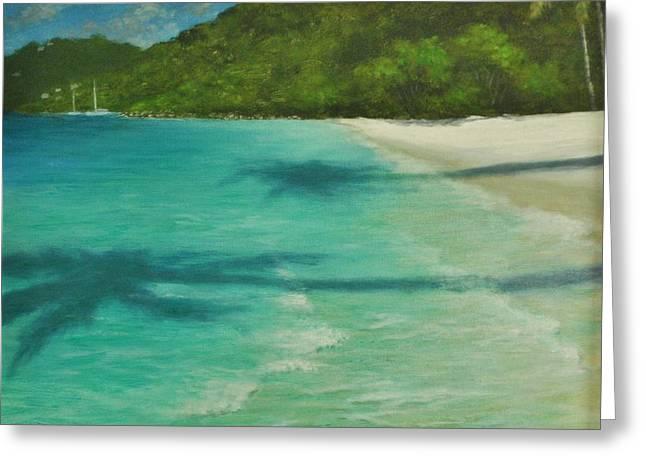 Shadows Over Magens Bay By Alan Zawacki Greeting Card