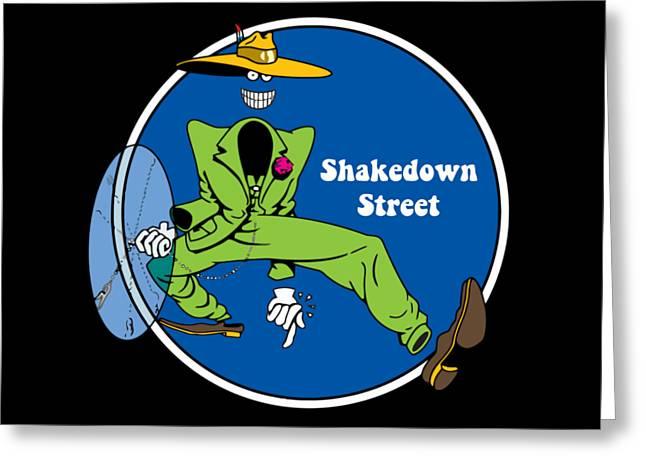 Shakedown Street Greeting Card