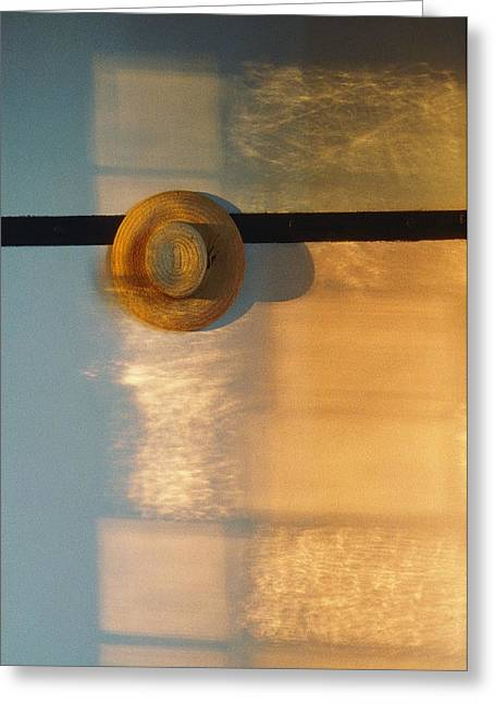 Shaker Hat Hanging On Wall, Pleasant Greeting Card
