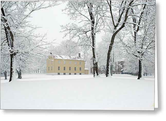 Shaker Winter Greeting Card