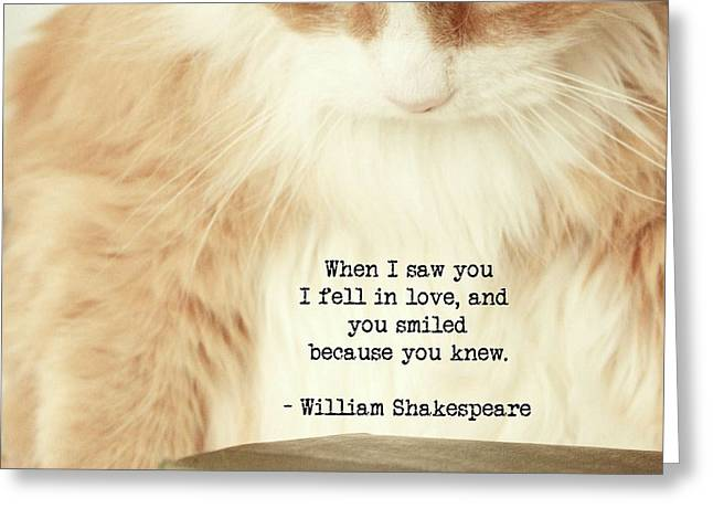 Shakespeare In Love Greeting Card