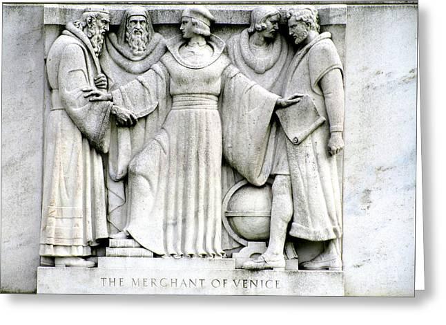 Shakespeares Merchant Of Venice Greeting Card