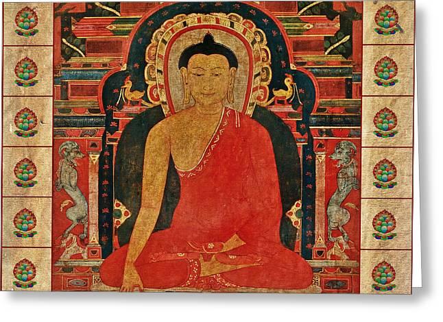 Shakyamuni Buddha Greeting Card