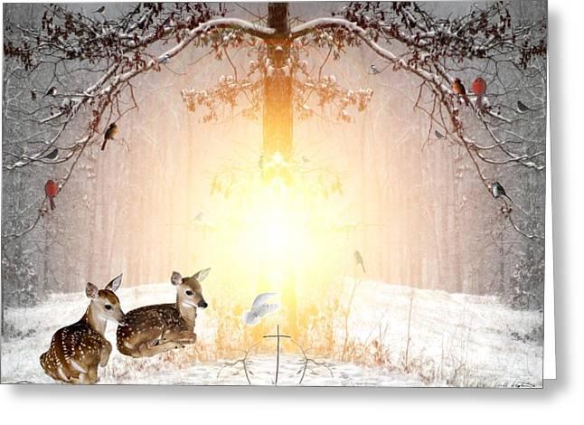 Shalom Greeting Card by Bill Stephens