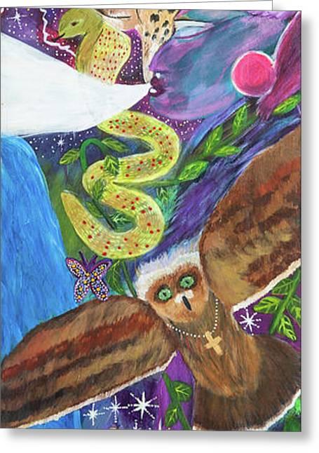 Shamans Totem Greeting Card
