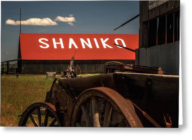 Shaniko Oregon Greeting Card by Marnie Patchett