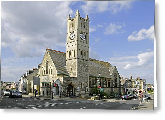 Church Greeting Cards - Shanklin United Reformed Church Greeting Card by Rod Johnson