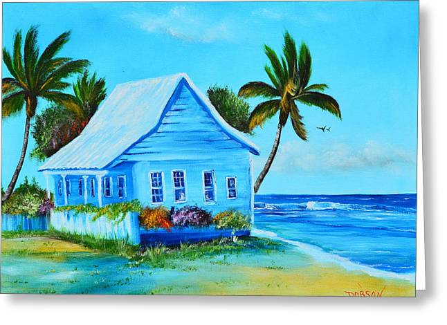 Shanty In Jamaica Greeting Card