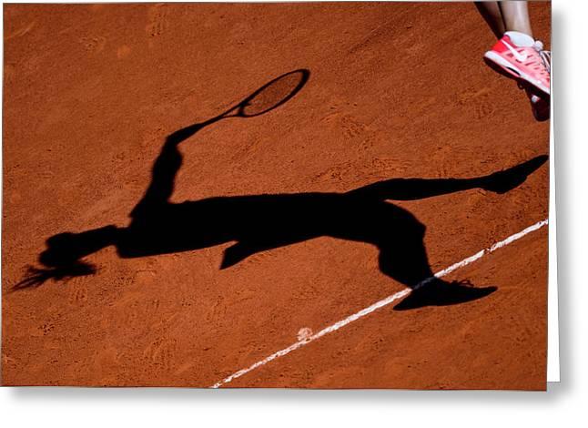 Maria Sharapova 1 Greeting Card