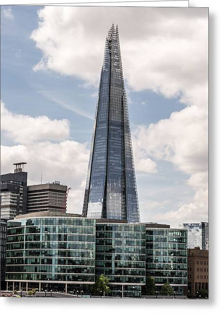 Shard Building In London Greeting Card