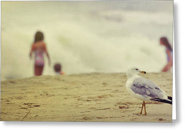 Share The Beach  Greeting Card by JAMART Photography